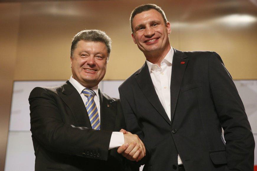 Petro Porošenka ir Vitalijus Klyčko