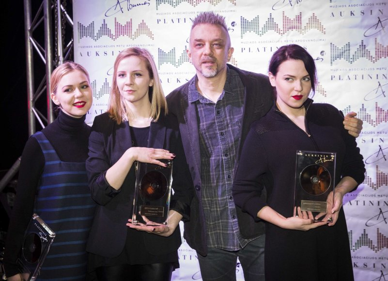 Monika Linkytė, Ieva Narkutė, Andrius Mamontovas, Justė Arlauskaitė-Jazzu