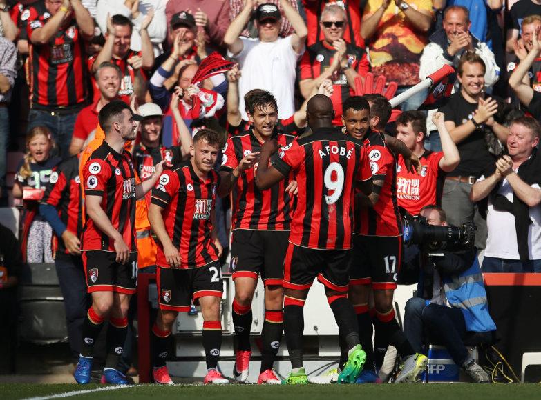 """""""Bournemouth"""" iškovojo itin svarbią pergalę"""
