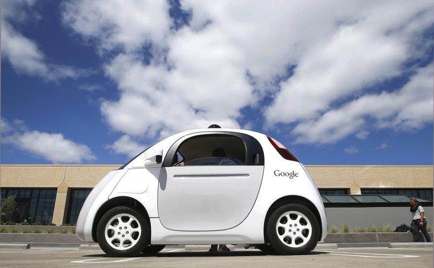 "Autonominio ""Google"" automobilio prototipas"
