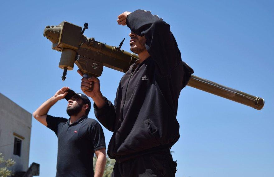 MANPADS naudoja ir sukilėliai Sirijoje