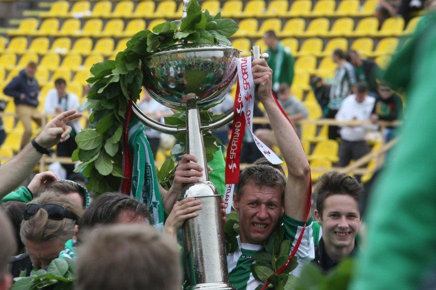"""Šiauliuose LFF finalas – """"Žalgiris"""" įveikė """"Atlantą"""" 2:0"""