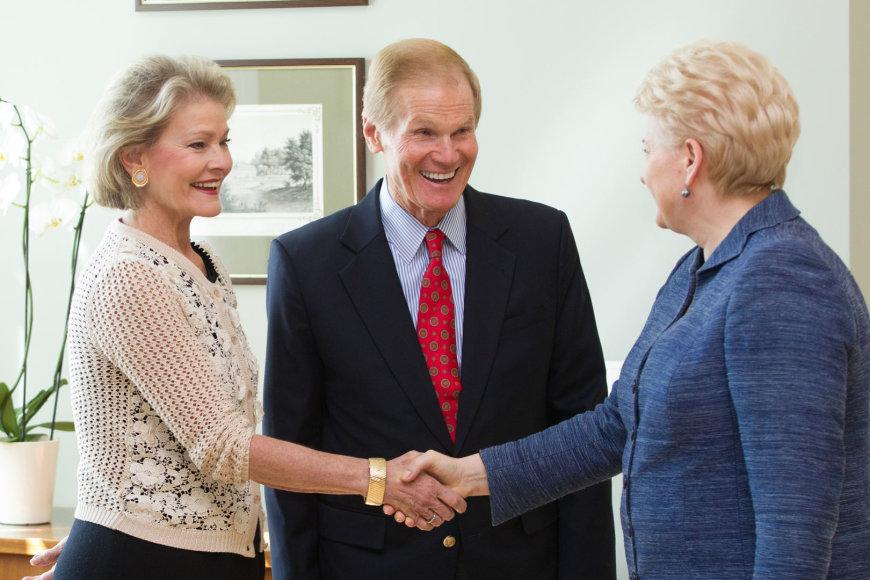 Dalia Grybauskaitė susitiko su JAV Kongreso nariais