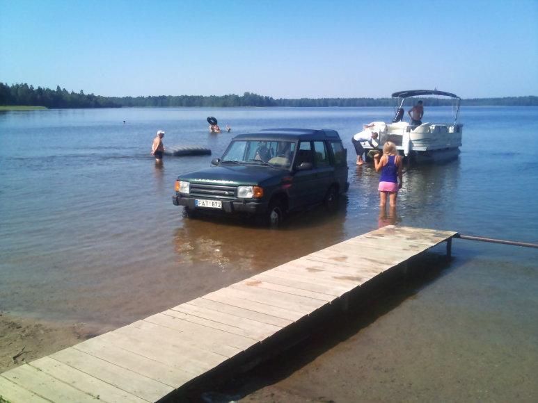 Visureigis Germanto ežere