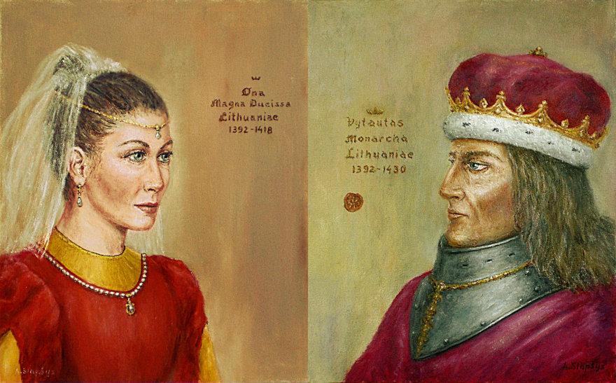 Vytautas užrašė dovį Onai Vytautienei
