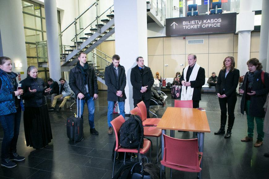 Į Kijevą išvyko Lietuvos medikų misija.