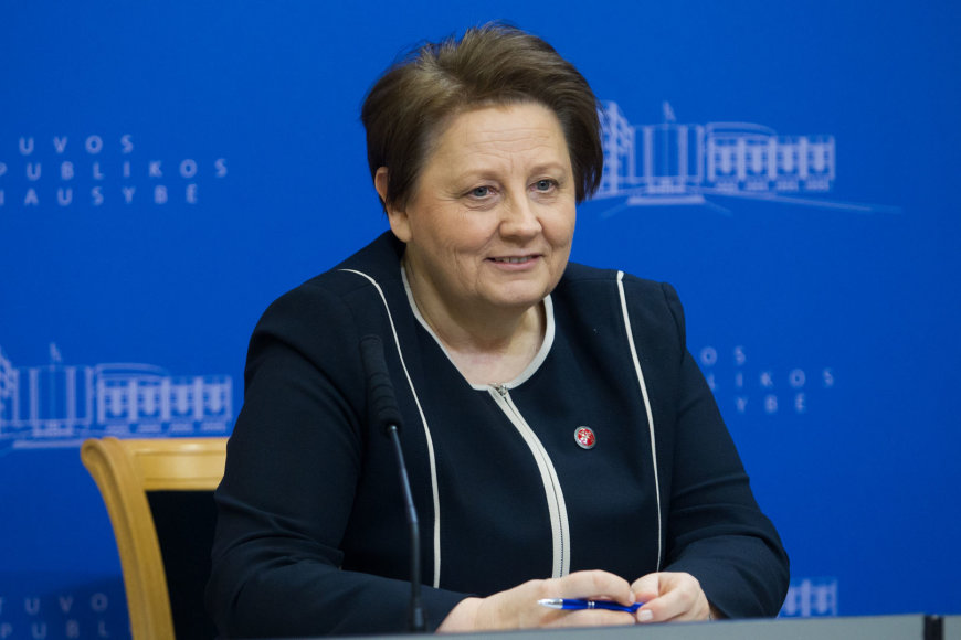 Latvijos premjerė Laimdota Straujuma