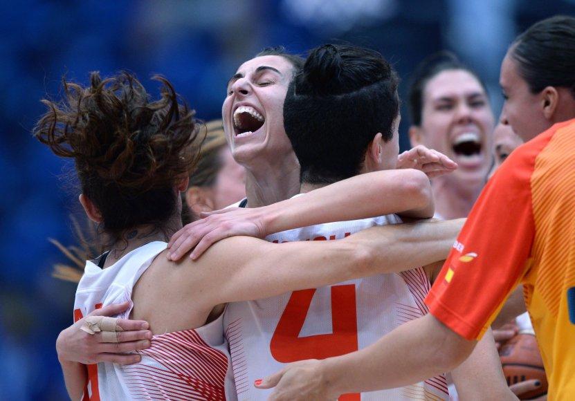 Ispanijos moterų krepšinio rinktinė