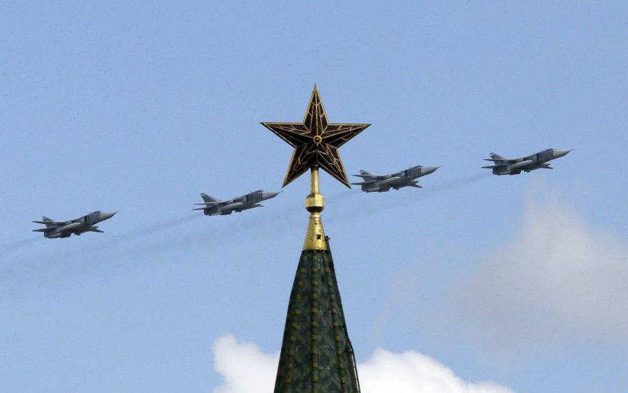 Rusijos kariuomenės lėktuvai