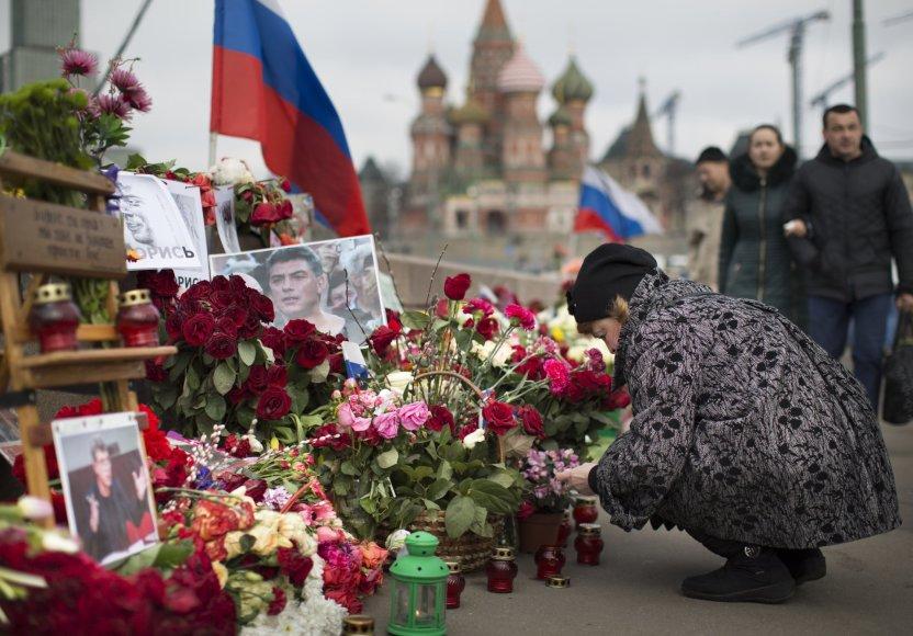 Boriso Nemcovo pagerbimas