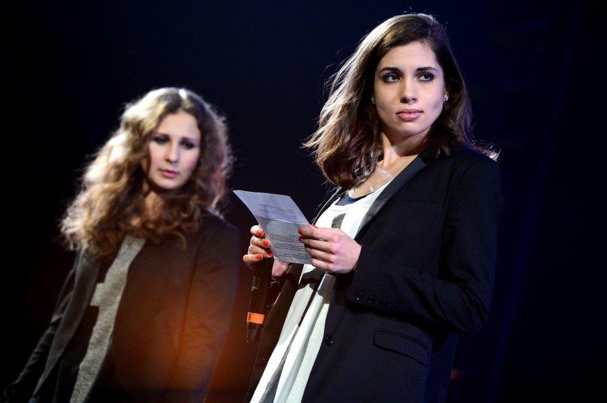 Marija Aliochina ir Nadežda Tolokonikova