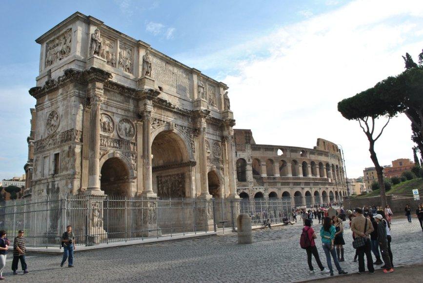 Koliziejus, Roma