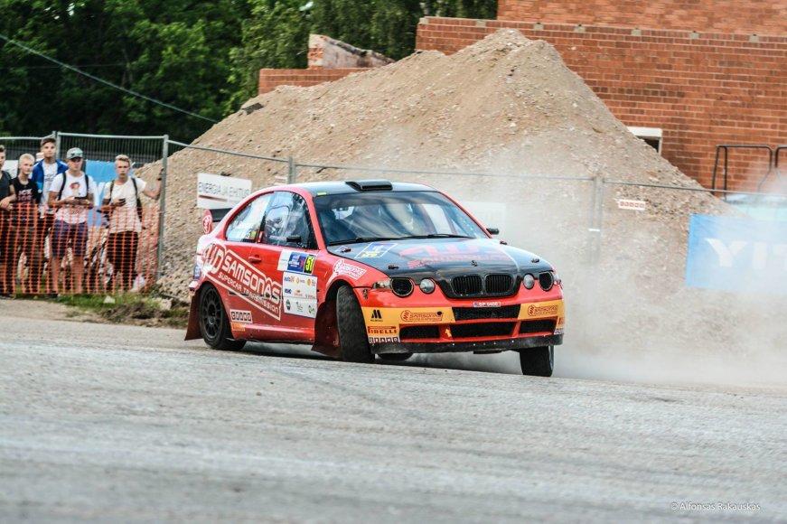 Alfonso Rakausko nuotr./Martynas Samsonas ir Mindaugas Varža, BMW M3X