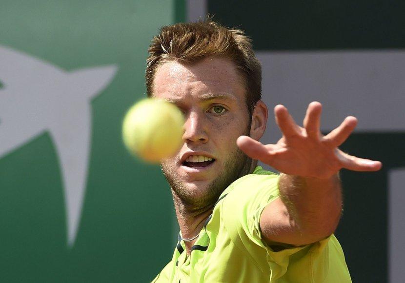 Jackas Sockas pateko į ATP 250 serijos turnyro pusfinalį