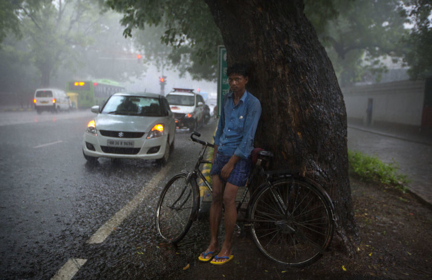 Indiją nusiaubė dideli potvyniai