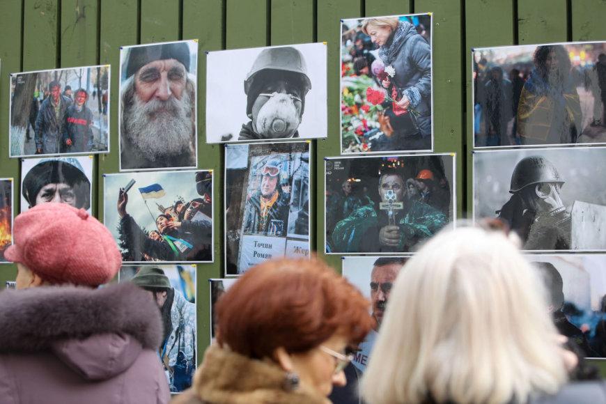 Ukrainos palaikymo akcija