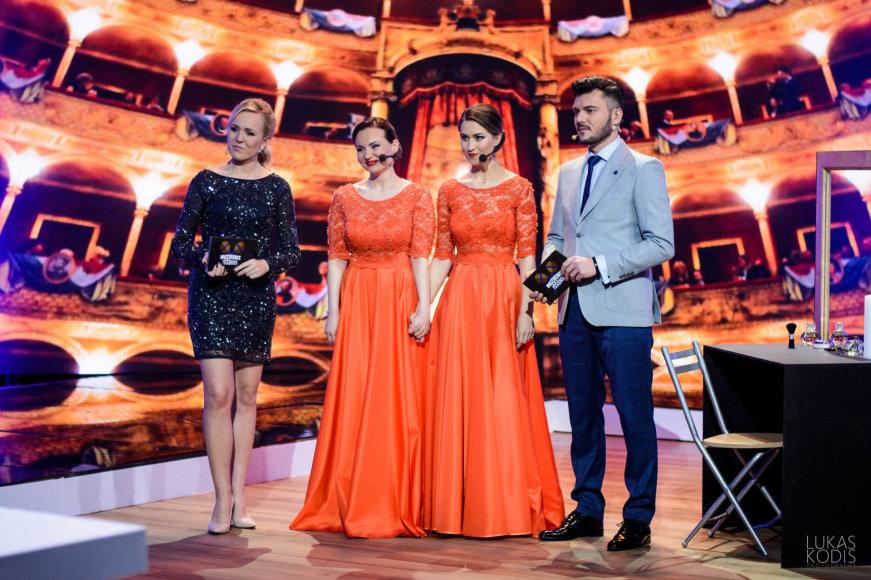 Donata Gutauskienė-Laisva, Ieva Juozapaitytė ir  Neringa Nekrašiūtė, Tadas Rimgaila