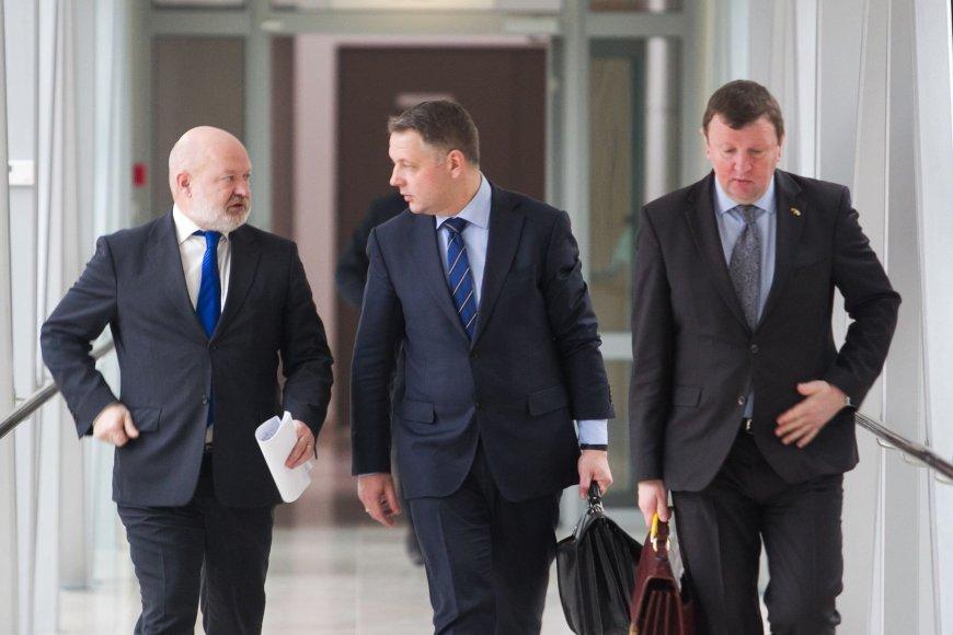 Eugenijus Gentvilas, Eligijus Masiulis ir Vitalijus Gailius