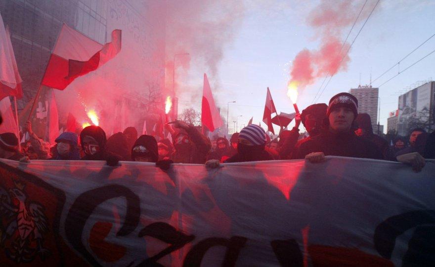 Lenkijos nacionalistų eitynės