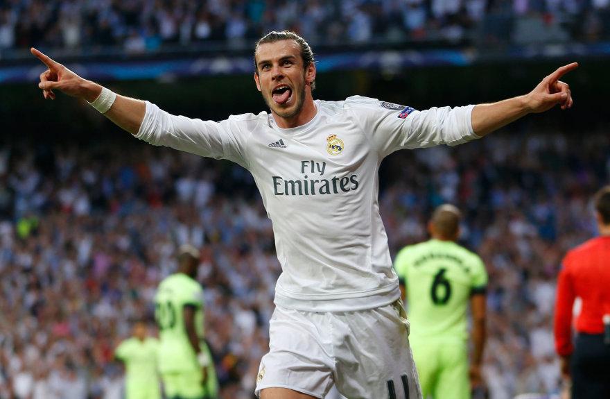 """Scanpix"" nuotr./Garethas Bale'as"