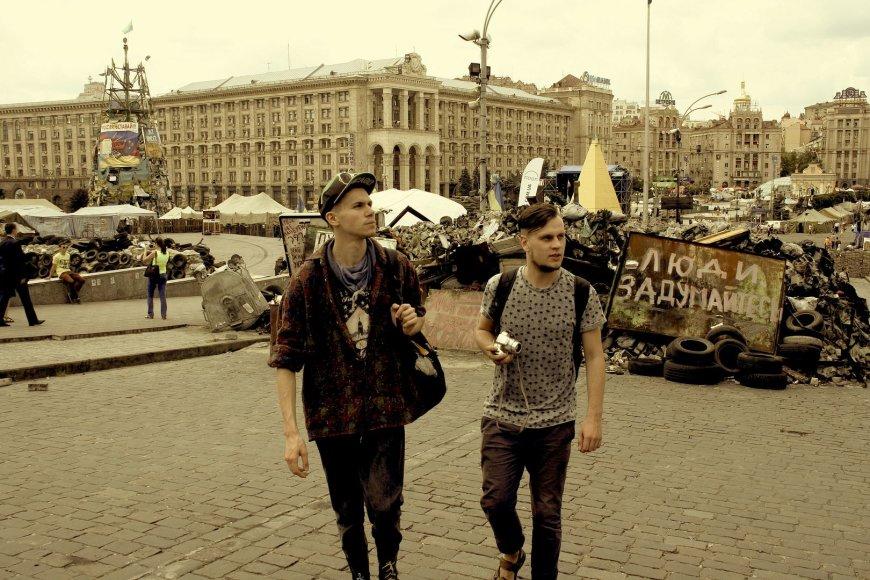 Beissoul ir Einius Maidano aikštėje