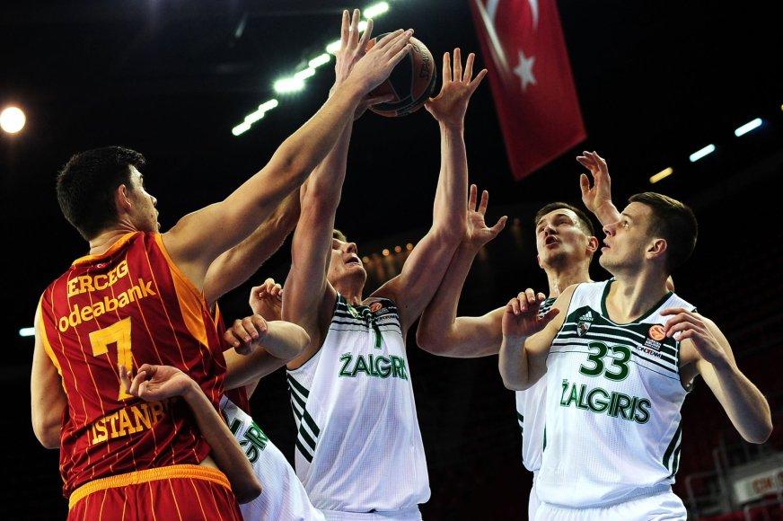 """Žalgirio"" Eurolygos ""Top 16"" akistata su ""Galatasaray"" ekipa"