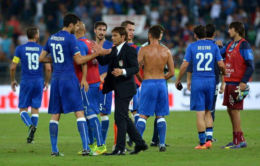 Antonio Conte ir Italijos rinktinė