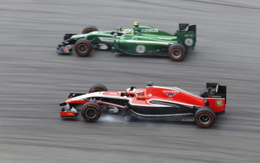 Julesas Bianchi ir Marcusas Ericssonas