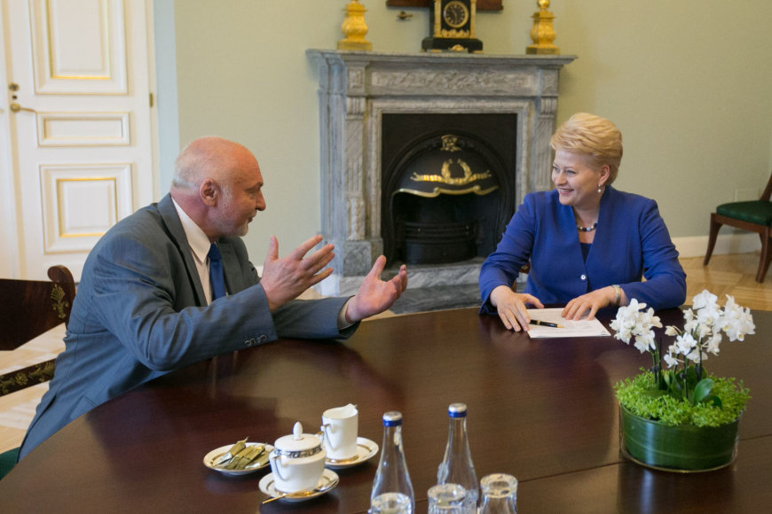 Dalia Grybauskitė ir Valentinas Mazuronis