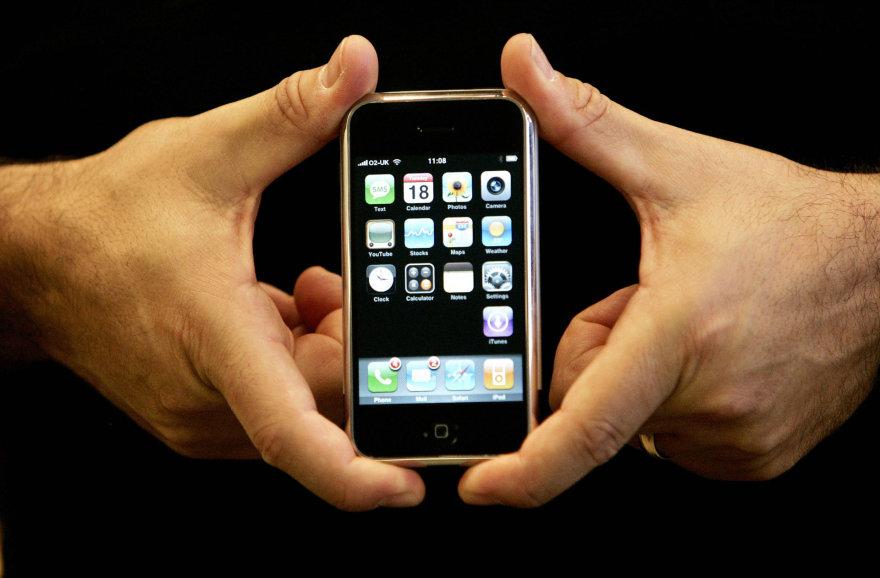 Pirmasis iPhone