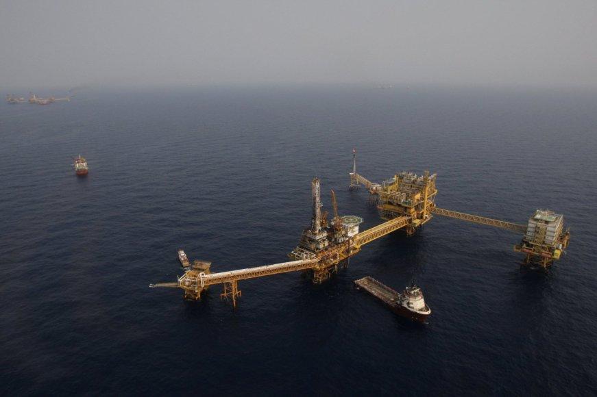 """""""Pemex"""" naftos platforma"""