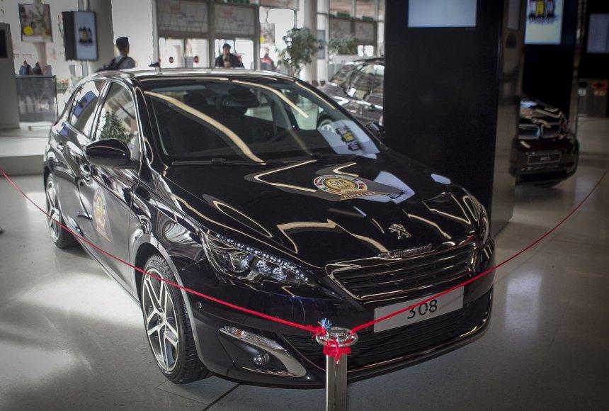 Europos metų automobilio paskelbimas Ženevoje