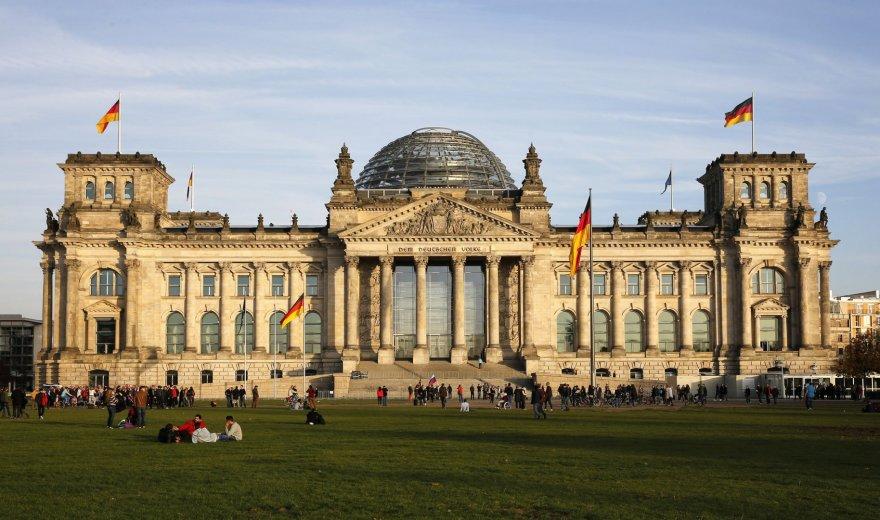Vokietijos parlamentas Bundestagas Berlyne