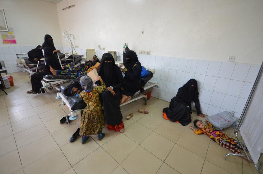 Ligoninė Jemeno sostinėje Sanoje
