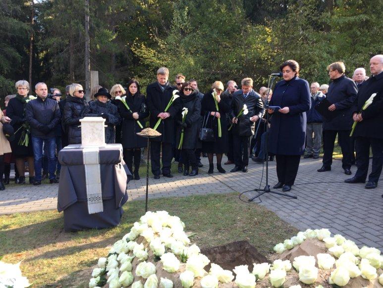Juro Poželos laidotuvės
