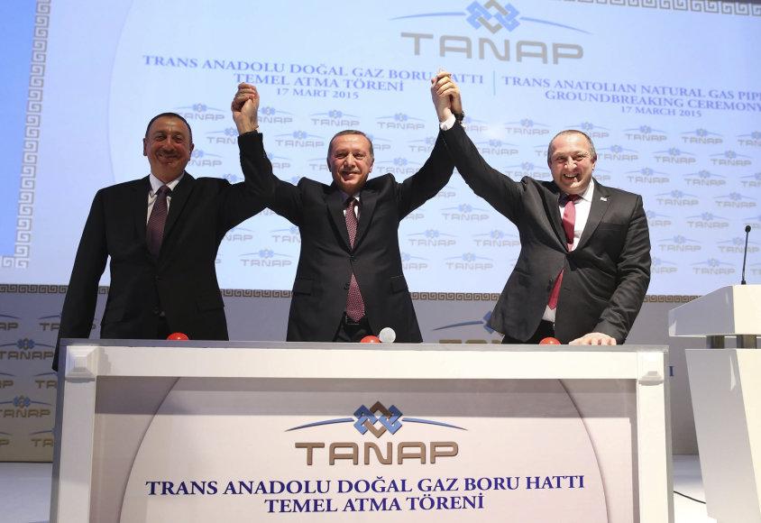 Azerbaidžano, Turkijos ir Gruzijos prezidentai
