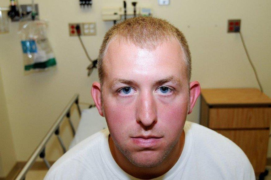 Juodaodį nušovęs policininkas Darrenas Wilsonas