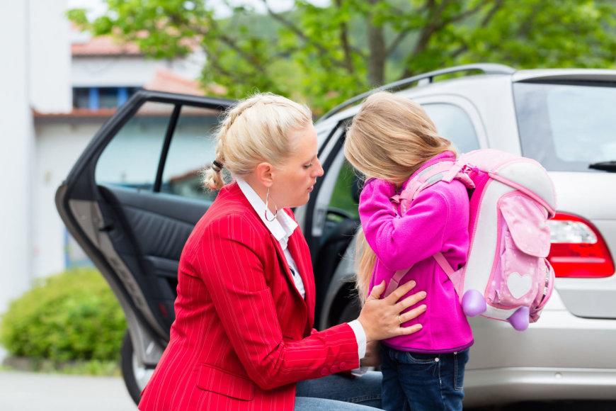 123RF.com nuotr./Mama ir dukra