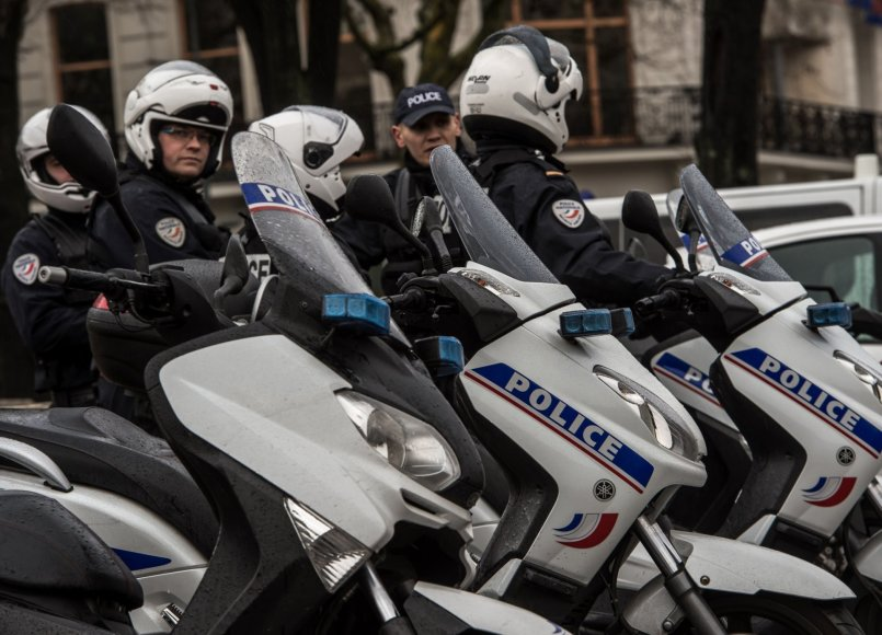 Belgijos policijos pareigūnai