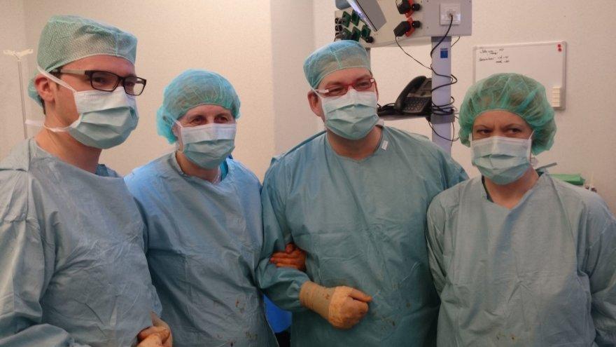 Santariškių klinikų urologai
