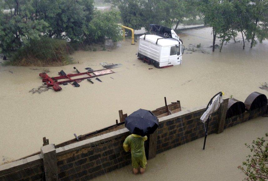 Potvynis Sočyje