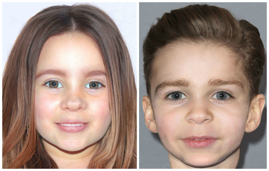 Taip, anot menininko Joe Mullinso, turėtų atrodyti Justino Timberlake'o ir Jessicos Biel vaikai