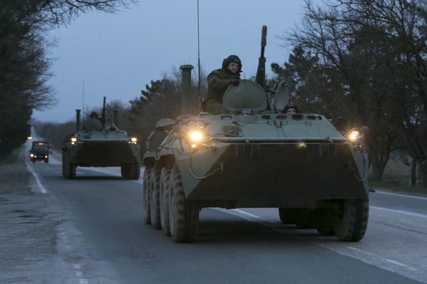Rusijos karinė technika Kryme