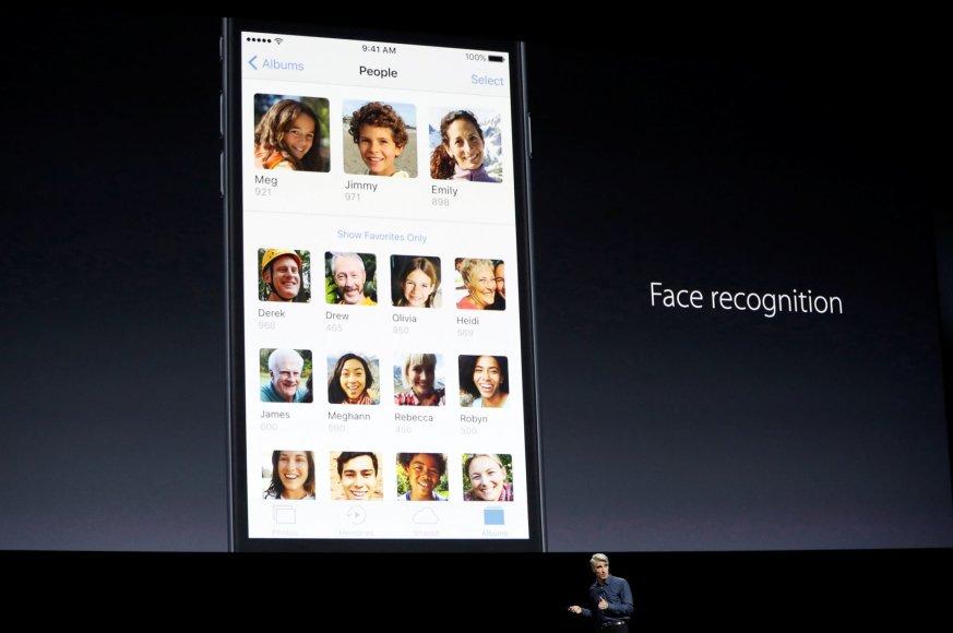 """""""iOS 10"""" naujovės"""