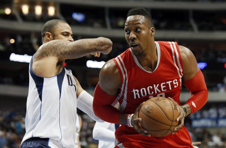 """""""Rockets"""" jau žaidė Dwightas Howardas"""
