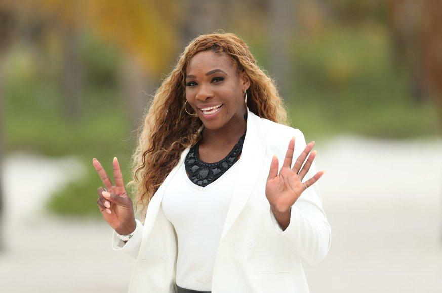 Ačiū, Serena Williams, už pasidalintus pirštų atspaudus