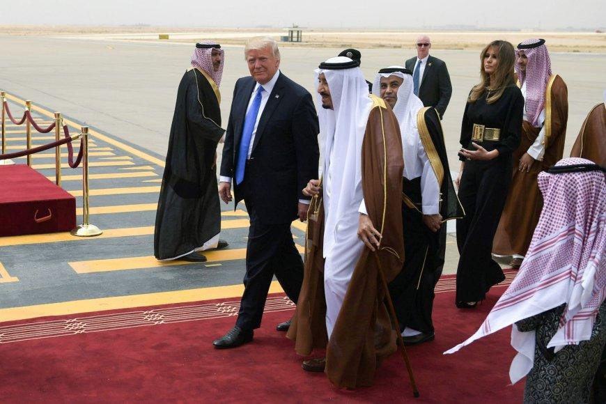 Donaldas Trumpas Saudo Arabijoje