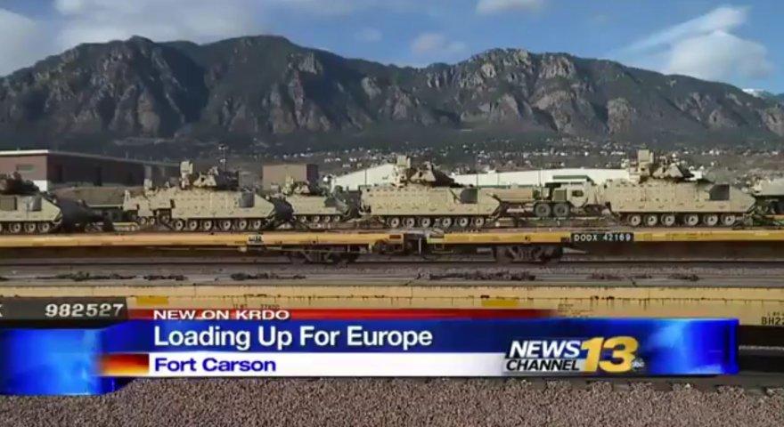 JAV kariuomenės daliniai ruošiami permetimui į Europą