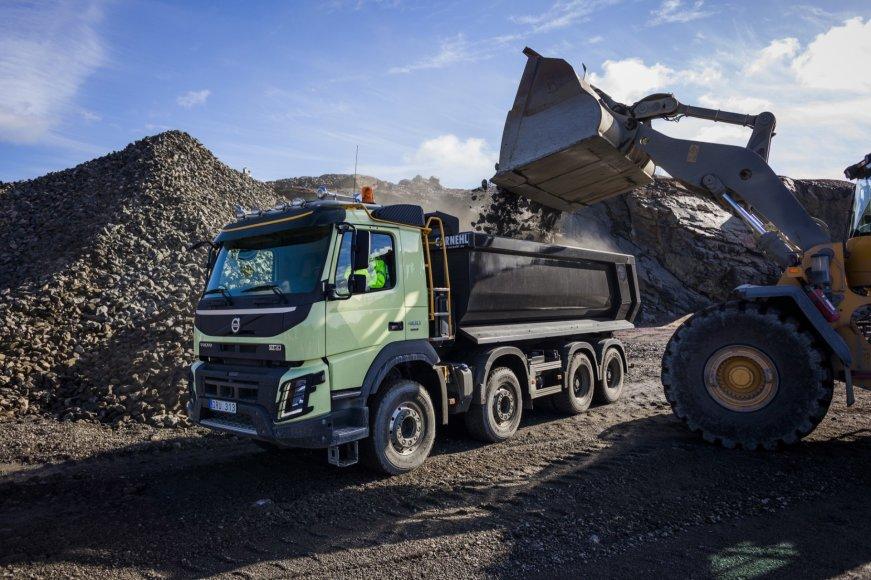 """Volvo Dynamic Steering"" sprendimas"
