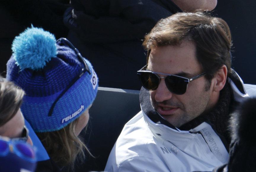 Rogeris Federeris ir Michelle Grisin